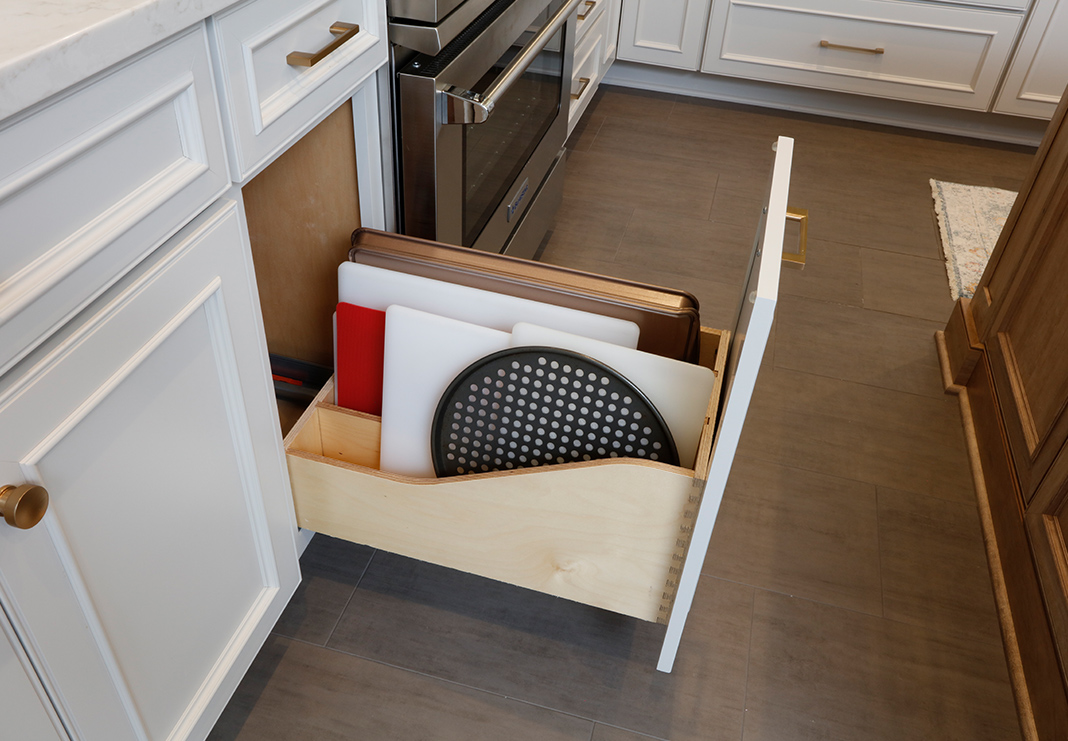 Slide Out Kitchen Storage