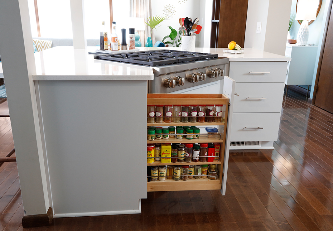 Spice Rack Pull-Out