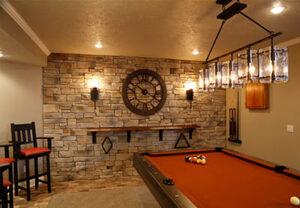 game room lighting
