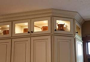 display cabinet lighting